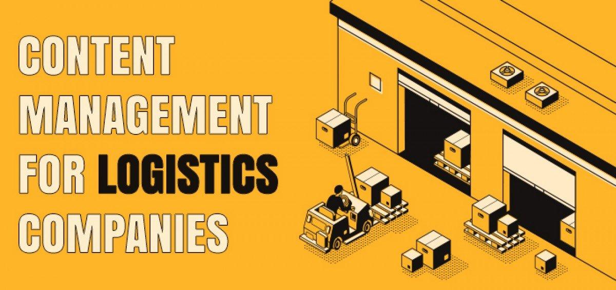 Content Management for Logistics Companies