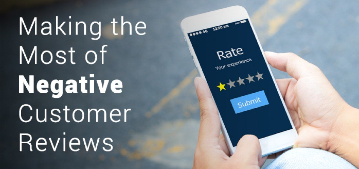 Making the Most of Negative Customer Reviews