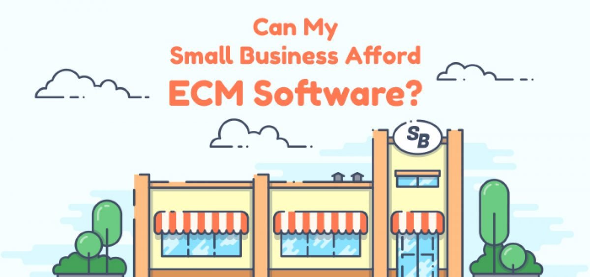 Can My Small Business Afford ECM Software?